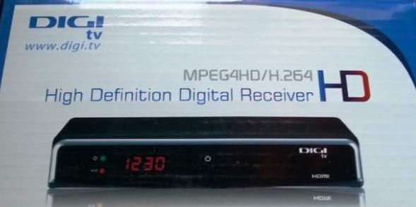 Telecomanda Digi TV receptor model HD